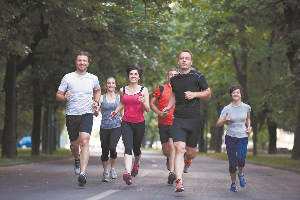 Frauen beim joggen kennenlernen